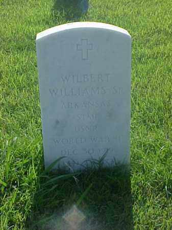 WILLIAMS, SR (VETERAN WWII), WILBERT - Pulaski County, Arkansas | WILBERT WILLIAMS, SR (VETERAN WWII) - Arkansas Gravestone Photos