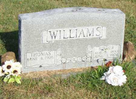 WILLIAMS, THOMAS - Pulaski County, Arkansas | THOMAS WILLIAMS - Arkansas Gravestone Photos