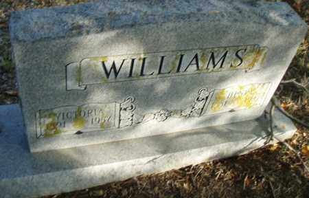WILLIAMS, VICTORIA - Pulaski County, Arkansas | VICTORIA WILLIAMS - Arkansas Gravestone Photos