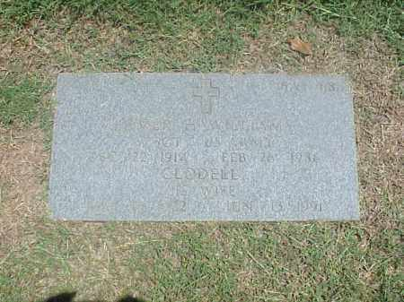 WILLIAMS, CLODELL - Pulaski County, Arkansas | CLODELL WILLIAMS - Arkansas Gravestone Photos