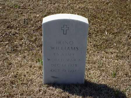 WILLIAMS (VETERAN WWII), IRINO - Pulaski County, Arkansas | IRINO WILLIAMS (VETERAN WWII) - Arkansas Gravestone Photos