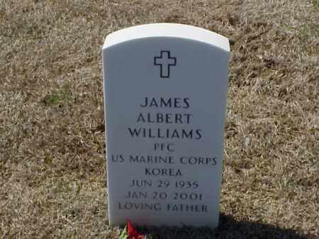 WILLIAMS (VETERAN KOR), JAMES ALBERT - Pulaski County, Arkansas | JAMES ALBERT WILLIAMS (VETERAN KOR) - Arkansas Gravestone Photos