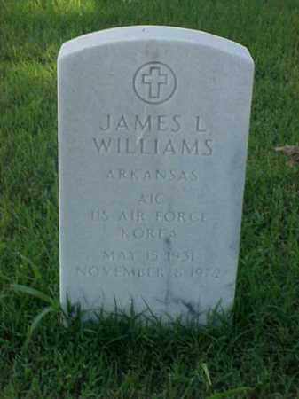 WILLIAMS (VETERAN KOR), JAMES L - Pulaski County, Arkansas | JAMES L WILLIAMS (VETERAN KOR) - Arkansas Gravestone Photos