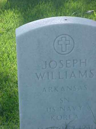 WILLIAMS (VETERAN KOR), JOSEPH - Pulaski County, Arkansas | JOSEPH WILLIAMS (VETERAN KOR) - Arkansas Gravestone Photos