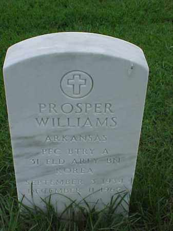 WILLIAMS (VETERAN KOR), PROSPER - Pulaski County, Arkansas | PROSPER WILLIAMS (VETERAN KOR) - Arkansas Gravestone Photos