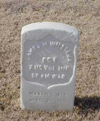 WILLIAMS (VETERAN SAW), JAMES H - Pulaski County, Arkansas | JAMES H WILLIAMS (VETERAN SAW) - Arkansas Gravestone Photos