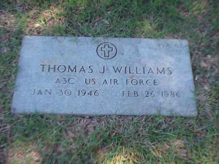 WILLIAMS (VETERAN), THOMAS J - Pulaski County, Arkansas | THOMAS J WILLIAMS (VETERAN) - Arkansas Gravestone Photos