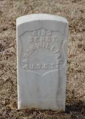 WILLIAMS (VETERAN UNION), AARON - Pulaski County, Arkansas | AARON WILLIAMS (VETERAN UNION) - Arkansas Gravestone Photos