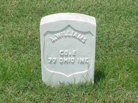 WILLIAMS (VETERAN UNION), A - Pulaski County, Arkansas | A WILLIAMS (VETERAN UNION) - Arkansas Gravestone Photos
