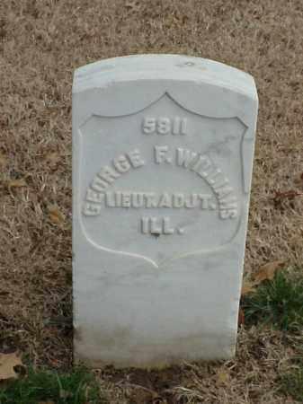 WILLIAMS (VETERAN UNION), GEORGE F - Pulaski County, Arkansas | GEORGE F WILLIAMS (VETERAN UNION) - Arkansas Gravestone Photos