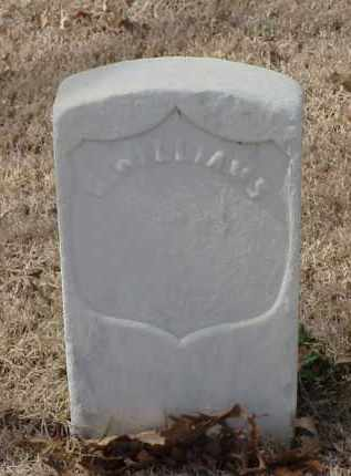 WILLIAMS (VETERAN UNION), G - Pulaski County, Arkansas | G WILLIAMS (VETERAN UNION) - Arkansas Gravestone Photos