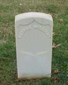 WILLIAMS (VETERAN UNION), GEORGE - Pulaski County, Arkansas | GEORGE WILLIAMS (VETERAN UNION) - Arkansas Gravestone Photos
