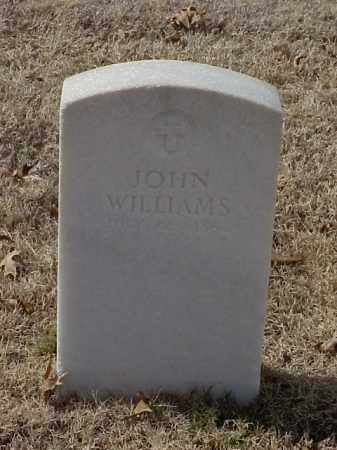 WILLIAMS (VETERAN UNION), JOHN - Pulaski County, Arkansas | JOHN WILLIAMS (VETERAN UNION) - Arkansas Gravestone Photos