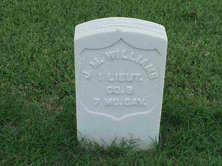 WILLIAMS (VETERAN UNION), J M - Pulaski County, Arkansas | J M WILLIAMS (VETERAN UNION) - Arkansas Gravestone Photos