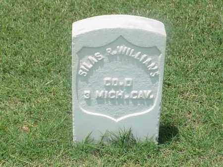 WILLIAMS (VETERAN UNION), SILAS R - Pulaski County, Arkansas | SILAS R WILLIAMS (VETERAN UNION) - Arkansas Gravestone Photos