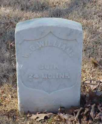 WILLIAMS (VETERAN UNION), W G - Pulaski County, Arkansas | W G WILLIAMS (VETERAN UNION) - Arkansas Gravestone Photos
