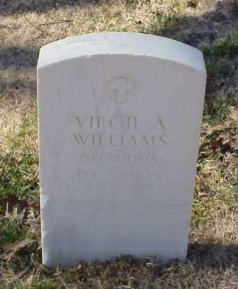 WILLIAMS (VETERAN), VIRGIL A - Pulaski County, Arkansas | VIRGIL A WILLIAMS (VETERAN) - Arkansas Gravestone Photos
