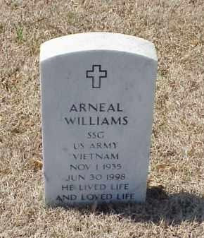 WILLIAMS (VETERAN VIET), ARNEAL - Pulaski County, Arkansas | ARNEAL WILLIAMS (VETERAN VIET) - Arkansas Gravestone Photos
