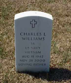 WILLIAMS (VETERAN VIET), CHARLES L - Pulaski County, Arkansas | CHARLES L WILLIAMS (VETERAN VIET) - Arkansas Gravestone Photos
