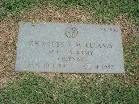 WILLIAMS (VETERAN VIET), CHARLES E - Pulaski County, Arkansas | CHARLES E WILLIAMS (VETERAN VIET) - Arkansas Gravestone Photos