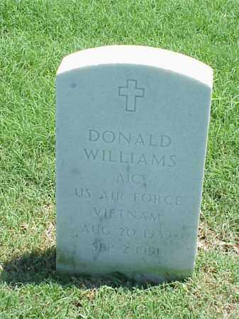 WILLIAMS (VETERAN VIET), DONALD - Pulaski County, Arkansas | DONALD WILLIAMS (VETERAN VIET) - Arkansas Gravestone Photos