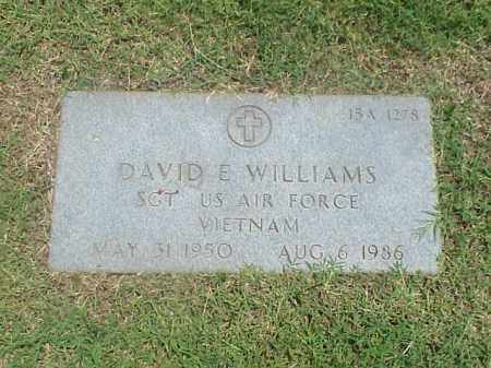 WILLIAMS (VETERAN VIET), DAVID E - Pulaski County, Arkansas | DAVID E WILLIAMS (VETERAN VIET) - Arkansas Gravestone Photos