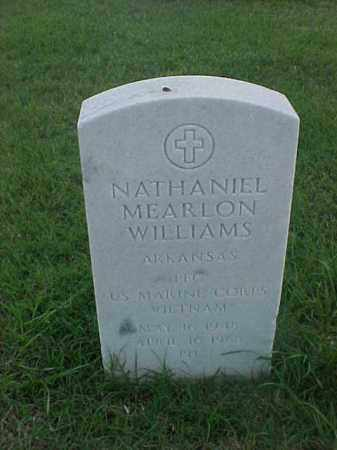 WILLIAMS (VETERAN VIET), NATHANIEL MEARLON - Pulaski County, Arkansas | NATHANIEL MEARLON WILLIAMS (VETERAN VIET) - Arkansas Gravestone Photos