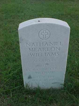 WILLIAMS (VETERAN VIET), NATHANIEL MEARLON - Pulaski County, Arkansas | NATHANIEL MEARLON WILLIAMS (VETERAN VIET) - Arkansas Gravestone Photos
