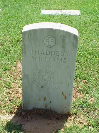 WILLIAMS (VETERAN VIET), THADDEUS - Pulaski County, Arkansas | THADDEUS WILLIAMS (VETERAN VIET) - Arkansas Gravestone Photos