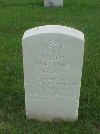 WILLIAMS (VETERAN), WILLIS - Pulaski County, Arkansas | WILLIS WILLIAMS (VETERAN) - Arkansas Gravestone Photos
