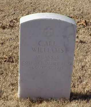 WILLIAMS (VETERAN WWI), CARL - Pulaski County, Arkansas | CARL WILLIAMS (VETERAN WWI) - Arkansas Gravestone Photos