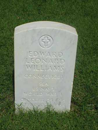 WILLIAMS (VETERAN WWI), EDWARD LEONARD - Pulaski County, Arkansas | EDWARD LEONARD WILLIAMS (VETERAN WWI) - Arkansas Gravestone Photos