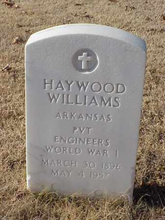 WILLIAMS (VETERAN WWI), HAYWOOD - Pulaski County, Arkansas | HAYWOOD WILLIAMS (VETERAN WWI) - Arkansas Gravestone Photos