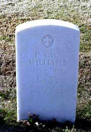 WILLIAMS (VETERAN WWI), ISAAC - Pulaski County, Arkansas | ISAAC WILLIAMS (VETERAN WWI) - Arkansas Gravestone Photos