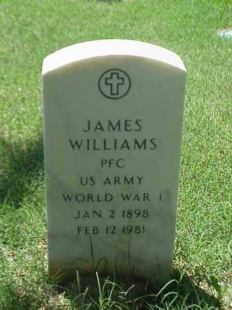 WILLIAMS (VETERAN WWI), JAMES - Pulaski County, Arkansas | JAMES WILLIAMS (VETERAN WWI) - Arkansas Gravestone Photos