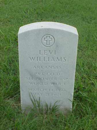 WILLIAMS (VETERAN WWI), LEVI - Pulaski County, Arkansas | LEVI WILLIAMS (VETERAN WWI) - Arkansas Gravestone Photos