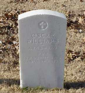 WILLIAMS (VETERAN WWI), OSCAR - Pulaski County, Arkansas | OSCAR WILLIAMS (VETERAN WWI) - Arkansas Gravestone Photos