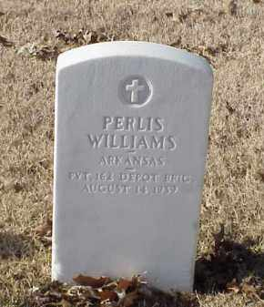 WILLIAMS (VETERAN WWI), PERLIS - Pulaski County, Arkansas | PERLIS WILLIAMS (VETERAN WWI) - Arkansas Gravestone Photos