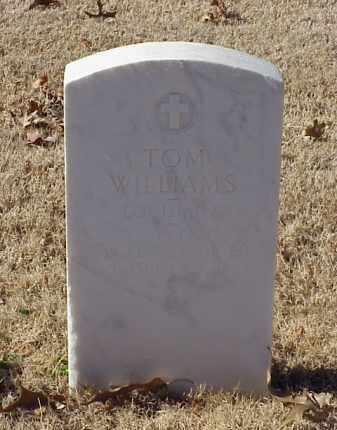 WILLIAMS (VETERAN WWI), TOM - Pulaski County, Arkansas | TOM WILLIAMS (VETERAN WWI) - Arkansas Gravestone Photos