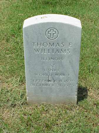 WILLIAMS (VETERAN WWI), THOMAS E - Pulaski County, Arkansas | THOMAS E WILLIAMS (VETERAN WWI) - Arkansas Gravestone Photos