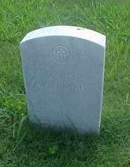WILLIAMS (VETERAN WWII), ANDY - Pulaski County, Arkansas | ANDY WILLIAMS (VETERAN WWII) - Arkansas Gravestone Photos