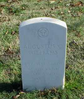 WILLIAMS (VETERAN WWII), AUGUSTUS O - Pulaski County, Arkansas | AUGUSTUS O WILLIAMS (VETERAN WWII) - Arkansas Gravestone Photos