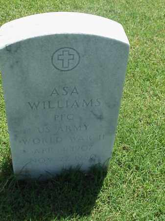 WILLIAMS (VETERAN WWII), ASA - Pulaski County, Arkansas | ASA WILLIAMS (VETERAN WWII) - Arkansas Gravestone Photos