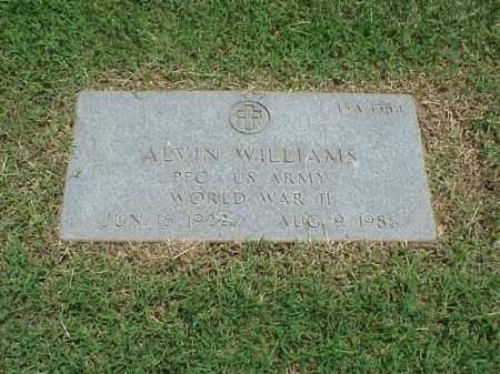 WILLIAMS (VETERAN WWII), ALVIN - Pulaski County, Arkansas | ALVIN WILLIAMS (VETERAN WWII) - Arkansas Gravestone Photos