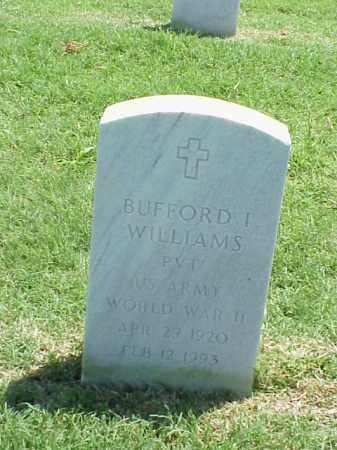 WILLIAMS (VETERAN WWII), BUFFORD I - Pulaski County, Arkansas | BUFFORD I WILLIAMS (VETERAN WWII) - Arkansas Gravestone Photos