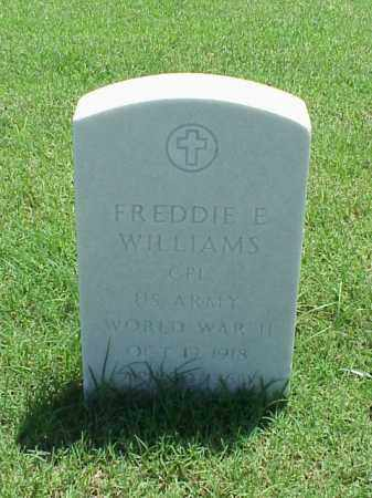 WILLIAMS (VETERAN WWII), FREDDIE E - Pulaski County, Arkansas | FREDDIE E WILLIAMS (VETERAN WWII) - Arkansas Gravestone Photos