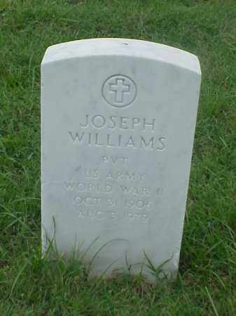 WILLIAMS (VETERAN WWII), JOSEPH - Pulaski County, Arkansas | JOSEPH WILLIAMS (VETERAN WWII) - Arkansas Gravestone Photos