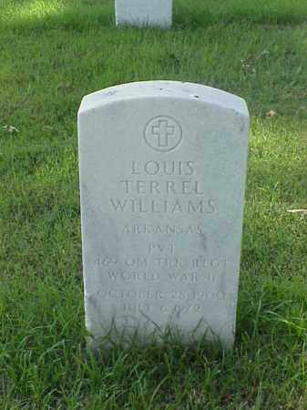 WILLIAMS (VETERAN WWII), LOUIS TERREL - Pulaski County, Arkansas | LOUIS TERREL WILLIAMS (VETERAN WWII) - Arkansas Gravestone Photos