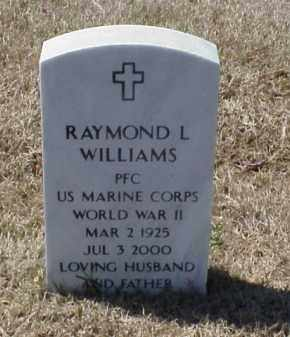 WILLIAMS (VETERAN WWII), RAYMOND L - Pulaski County, Arkansas | RAYMOND L WILLIAMS (VETERAN WWII) - Arkansas Gravestone Photos