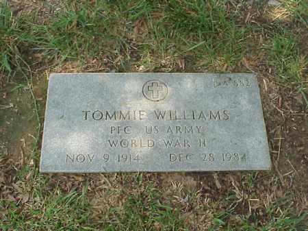 WILLIAMS (VETERAN WWII), TOMMIE - Pulaski County, Arkansas | TOMMIE WILLIAMS (VETERAN WWII) - Arkansas Gravestone Photos